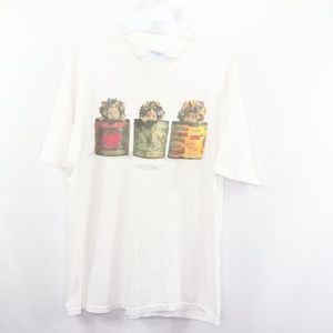 Vintage Anne Geddes Baby Flowers Photography Shirt